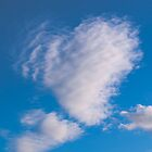 Love is in the air - heart shaped cloud by David Isaacson