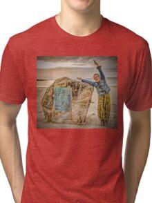 Yoga By The Sea Tri-blend T-Shirt