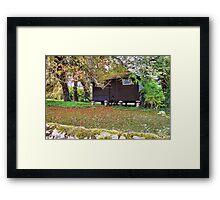 Little Black Hut Framed Print
