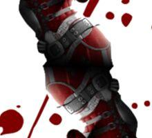 Harley Quinn Cart Sticker