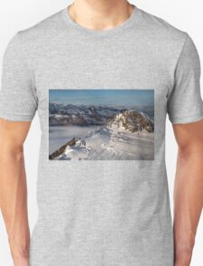 Winter on Kitzsteinhorn 8 T-Shirt