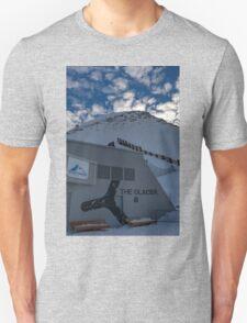 Winter on Kitzsteinhorn 9 Unisex T-Shirt