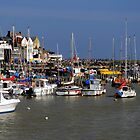 Bridlington Harbour by Rod Johnson