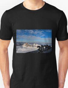 Winter on Kitzsteinhorn 10 Unisex T-Shirt