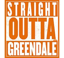 STRAIGHT OUTTA GREENDALE Photographic Print