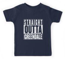 STRAIGHT OUTTA GREENDALE Kids Tee