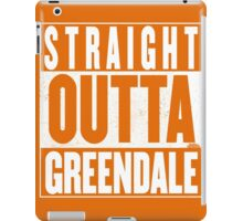 STRAIGHT OUTTA GREENDALE iPad Case/Skin