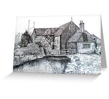 Village House Greeting Card