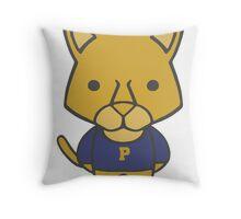 Panther Mascot Chibi Cartoon Throw Pillow
