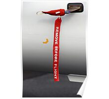Remove before flight Poster