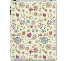 Fun floral iPad Case/Skin