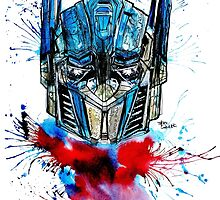 Optimus Prime by Laughingbeast
