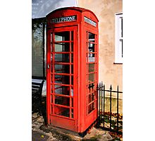 Red Phone Box Photographic Print