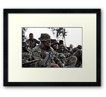 War, a dirty job - My Green Life Framed Print