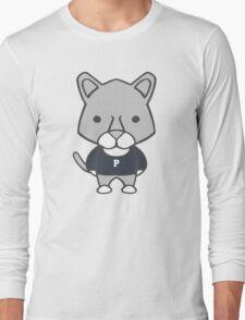 Lion Mascot Chibi Cartoon Long Sleeve T-Shirt