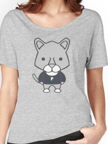 Lion Mascot Chibi Cartoon Women's Relaxed Fit T-Shirt