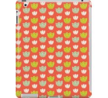 Tulips-orange iPad Case/Skin