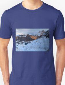 Winter on Kitzsteinhorn 18 Unisex T-Shirt
