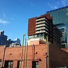 Melbourne buildings Mobile Phone Pic by CDCcreative