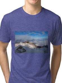 Winter on Kitzsteinhorn 19 Tri-blend T-Shirt
