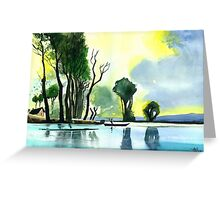 Distant Land Greeting Card