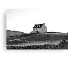 The House with the Red Door Canvas Print