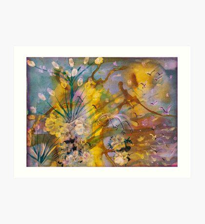 Utopia Painting  Art Print