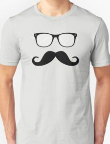 Geeky Mustache Guy T-Shirt
