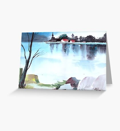 Tranquil 2 Greeting Card