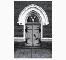 Door to Church - photography Kids Tee