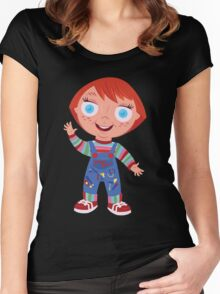 Chucky the Good Guys Doll Women's Fitted Scoop T-Shirt