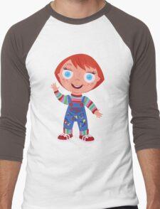Chucky the Good Guys Doll Men's Baseball ¾ T-Shirt