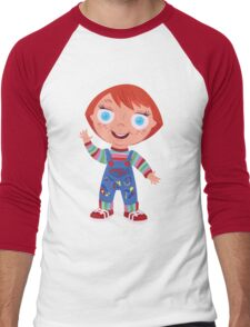 Chucky the Good Guys Doll Men's Baseball ¾ T-Shirt