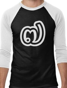 Thailand Number 7 / Seven / ๗ (Jed/Chet) Thai Language Script Men's Baseball ¾ T-Shirt