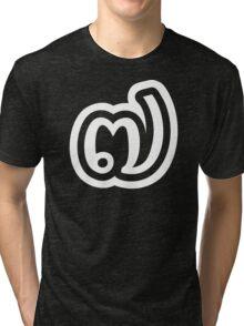 Thailand Number 7 / Seven / ๗ (Jed/Chet) Thai Language Script Tri-blend T-Shirt