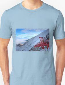 Winter on Kitzsteinhorn 22 Unisex T-Shirt