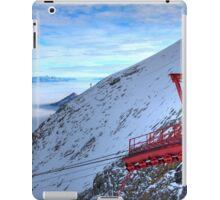 Winter on Kitzsteinhorn 22 iPad Case/Skin