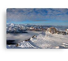 Winter on Kitzsteinhorn 23 Canvas Print