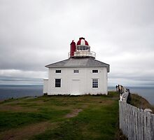Cape Spear Lighthouse by Mark Prior
