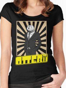 OTTER no.11  -  Bakuman Women's Fitted Scoop T-Shirt