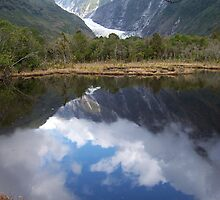 Lake Matheson and Franz Josef Glacier by VenusOak
