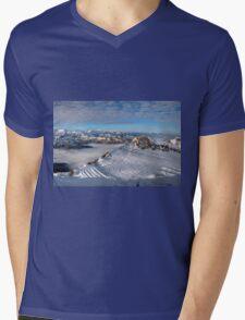 Winter on Kitzsteinhorn 25 Mens V-Neck T-Shirt