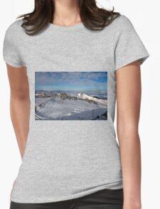 Winter on Kitzsteinhorn 26 Womens Fitted T-Shirt