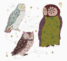 owls by whatmilk