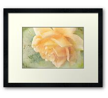 no need to remember Framed Print