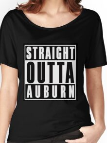 Straight Outta Auburn Women's Relaxed Fit T-Shirt