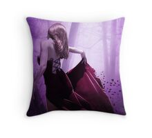 VIOLETA Throw Pillow