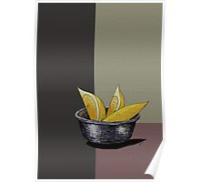 Lemon Composition Poster