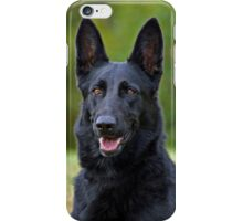 Black German Shepherd iPhone Case/Skin