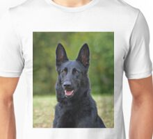 Black German Shepherd Unisex T-Shirt
